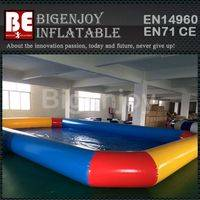 square swimming pool,Large inflatable pool,inflatable pool
