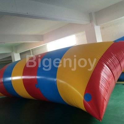 Inflatable launch catapult inflatable water blobs