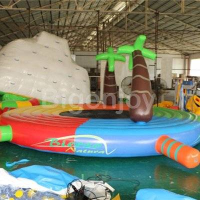China wholesale swimming pool trampoline