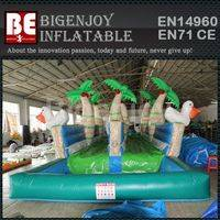 Inflatable water slip and slide,slide for kids and adults,Inflatable water slide