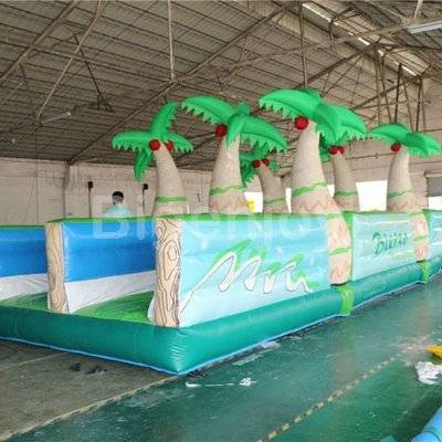 Inflatable water slip and slide for kids and adults