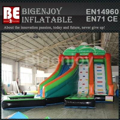 Used big funny summer inflatable water slide
