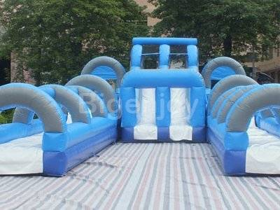 Amusement water park commercial giant inflatable water slide