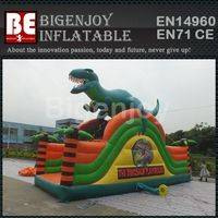 Dinosaur slide,inflatable dry slide,Dinosaur slide inflatable