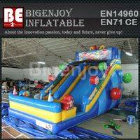 Candy park inflatable,inflatable toboggan slide,Candy slide