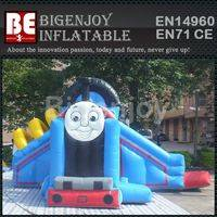 inflatable thomas train,thomas train bouncy combo,inflatable bouncy combo