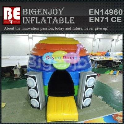 Inflatable disco dome house