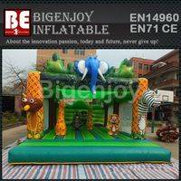 Inflatable Jungle Safari,Safari bounce house,Inflatable bounce house commercial