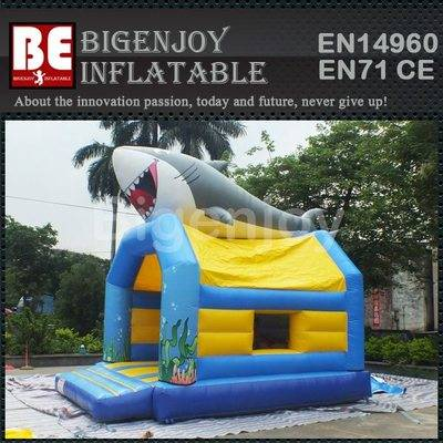 Commercial Inflatable REGULAR SHARK bounce