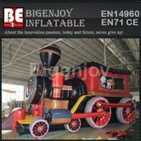 Advertising Cartoon Train,Inflatable Train,Cartoon Train