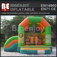 inflatable bouncer,bouncer with small slide,inflatable bouncer slide