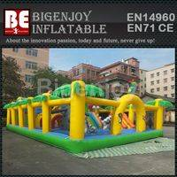Madagascar inflatable,inflatable fun land,Madagascar fun land