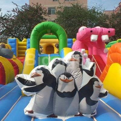 Madagascar inflatable fun land