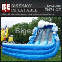 Inflatable slide,Dual Lane slide,Super Splash slide