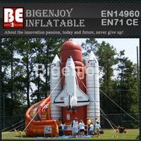 Inflatable space ship slide,USA space shuttle slide,space ship slide