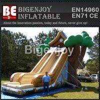 Tree house inflatable,inflatable sliding,Painting Tree house