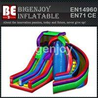 inflatable Slide,Dual Spiral Slide,Commercial inflatable Slide
