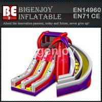 Spiral inflatable Slide,inflatable Slide for Sale,Outdoor Colourful Slide