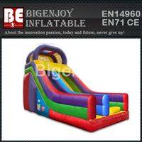 Deluxe inflatable dry slide,slide for kids play,inflatable dry slide