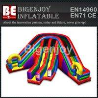 Inflatable Wacky Slide,Slide Manufacturer,Inflatable Triple Lane Slide