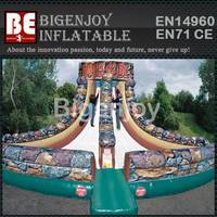 inflatable Rock Slide,Interactive game Slide,inflatable Slide