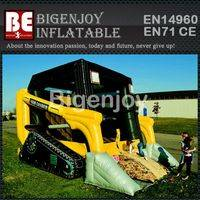 Promotional Inflatable,Inflatable bulldozer,bulldozer bouncer