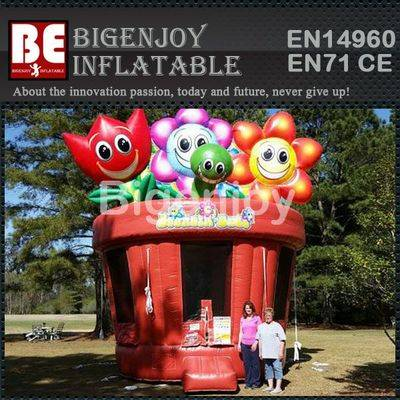 Inflatable Flower Pot Bouncer
