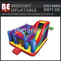 Wacky colorful Bouncer,Bouncer castle slide Combo,Wacky Combo