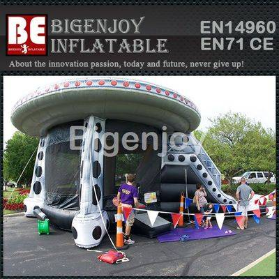 Inflatable ET UFO Combo bouncer