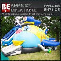 bouncers  slide combo,Jumbo fun inflatable,Jumbo combo