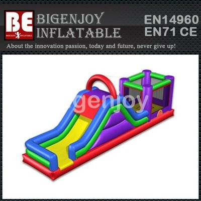 Inflatable Tropical 3-in-1 Bounce Combo