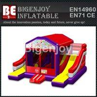 Bouncer Combo,5-in-One Bouncer Combo,Line Dual Slide Bouncer