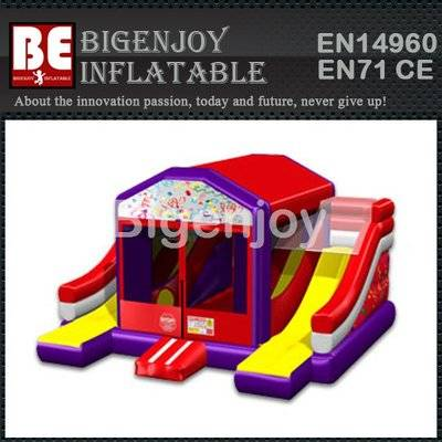 Line Dual Slide 5-in-One Bouncer Combo