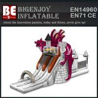 Dragon tower inflatable,inflatable slide and combo,Dragon tower combo