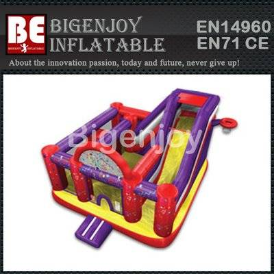 Design creative inflatable jumping bouncer combo