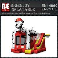 Dalmatian Dog Combo,Inflatable Dalmatian Dog,Bouncer Slide Combo