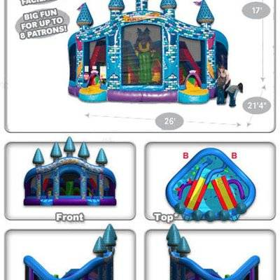 Multi Fun Centre Inflatable Rescue Squad Activity