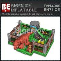 Giant jurassic zoo,inflatable playground,jurassic zoo inflatable