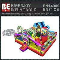 Inflatable candy playland,Inflatable toddler combo slide,candy playland combo