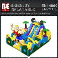 Ironman Challenge,Inflatable Obstacle Course,Ironman Obstacle Course