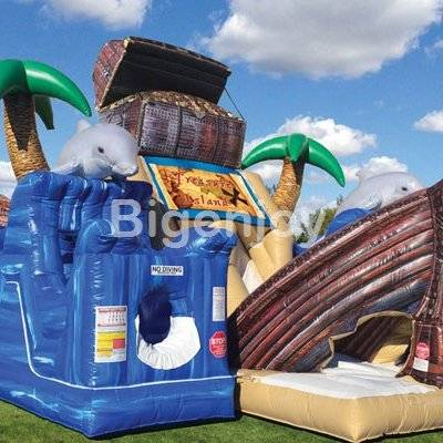 Inflatable Obstacle Courses Treasure Hunt Island