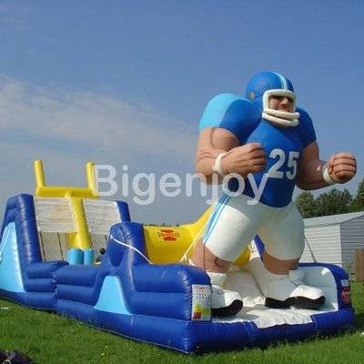 Endzone Challenge inflatable obstacle Course