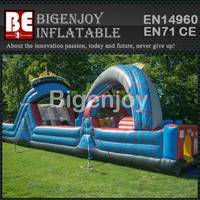 Roller coaster obstacle course,Inflatable obstacle course,Roller coaster Inflatable
