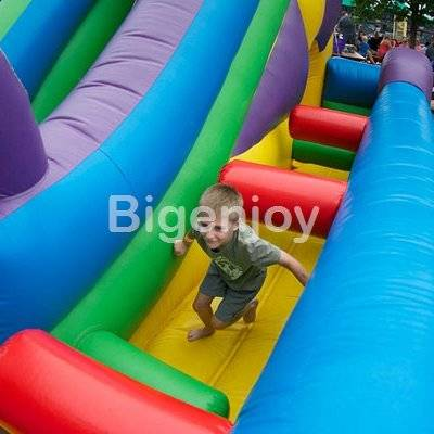 Wacky Castle colorful Bouncer castle
