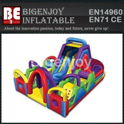 Inflatable Wacky Chaos Jr.Obstacle Challeng