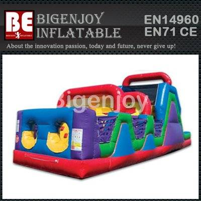 Inflatable Crash Course Obstacle Manufacturer