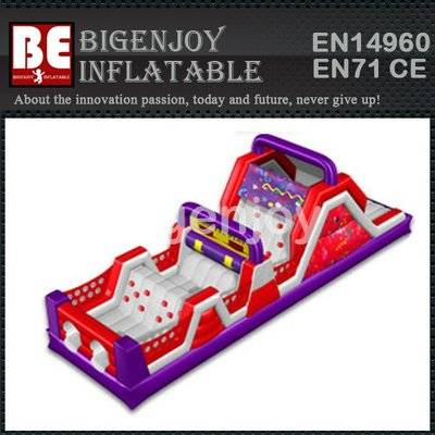 TOP newest design giant inflatable obstacle course