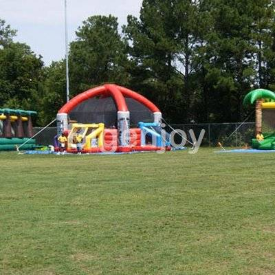 Interactives inflatable defender dome dodge ball