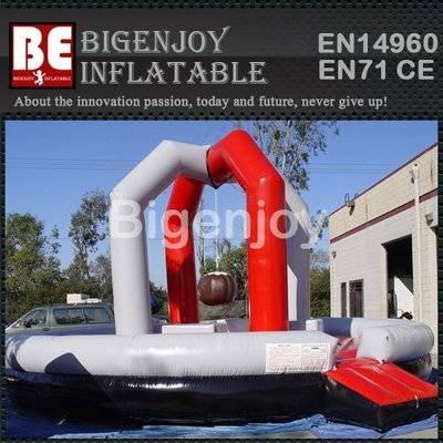 Inflatable Bouncy Wrecking Ball Game