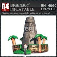 Giant Inflatable Tiki Island,Tiki Island Jungle Climbing,Giant Inflatable Climbing